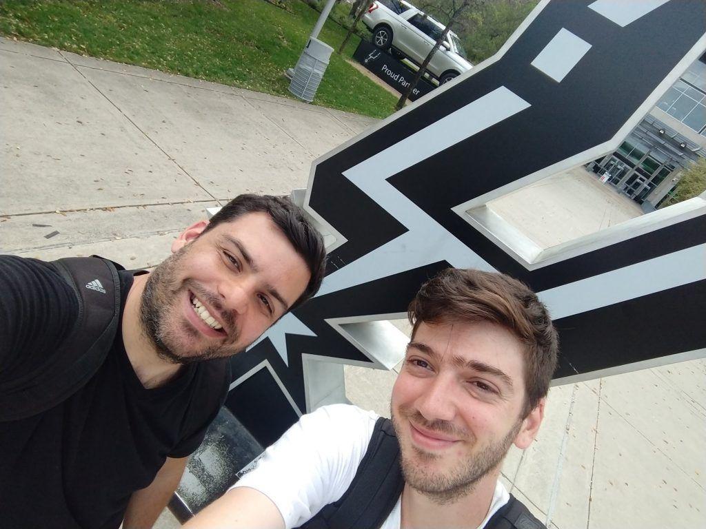 Denis e Danilo em Santo Antonio